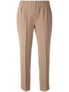 tapered stretch-waist trousers Brunello Cucinelli