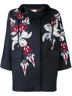 куртка с капюшоном  и аппликацией Antonio Marras