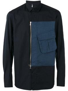zipped cargo pocket shirt Oamc