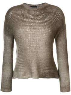 gradient round neck sweater Avant Toi