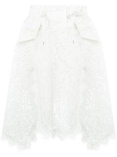 кружевная юбка Sacai