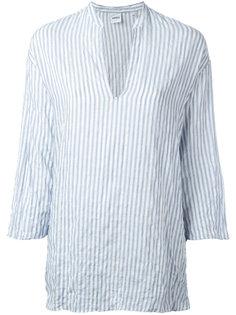 полосатая блузка с V-образным вырезом Aspesi