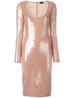 sequinned fitted dress Tom Ford