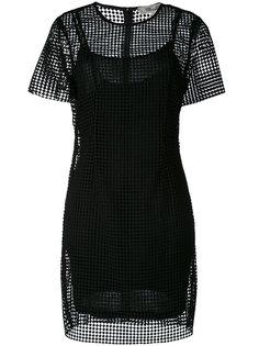 прозрачное платье  Diane Von Furstenberg