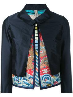 многослойная укороченная куртка Herno