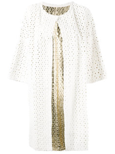 perforated coat Yves Salomon