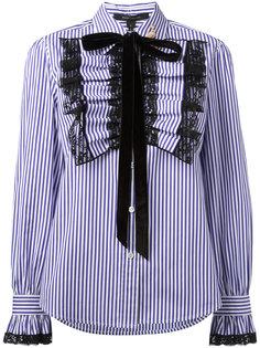 рубашка с манишкой с оборками Marc Jacobs
