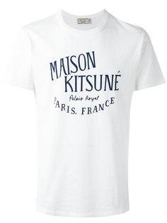 футболка с принтом palais royal Maison Kitsuné