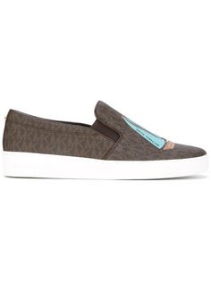 boat patch slip-on trainers Michael Michael Kors
