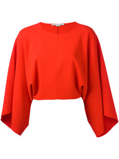 блузка с драпировкой на рукавах  Stella McCartney