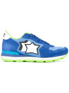 кроссовки со шнуровкой и логотипом Atlantic Stars