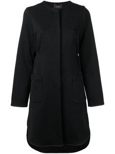 пальто на пуговицах Odeeh