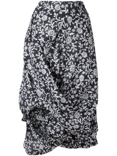 floral draped skirt Vivienne Westwood Anglomania