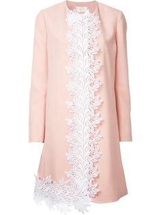 пальто с вышивкой Sara Battaglia