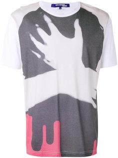 футболка с принтом Hand Junya Watanabe Comme Des Garçons Man