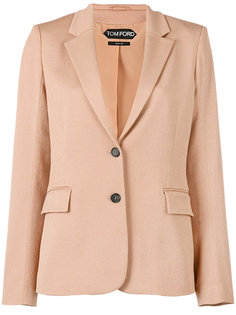 однобортный пиджак Tom Ford