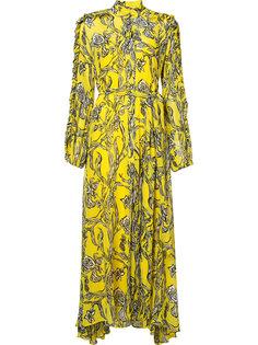 платье с цветочным принтом Ellery