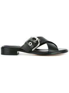 сандалии с перекрещенными ремешками Michael Michael Kors