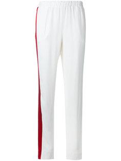 брюки с контрастной полоской Each X Other