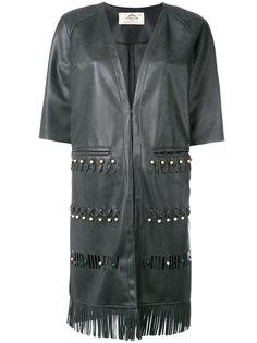 пальто с короткими рукавами и бахромой Urbancode