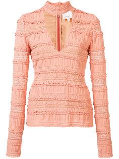choker blouse  Cinq A Sept