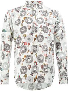 рубашка с принтом символов солнца Comme Des Garçons Homme Plus