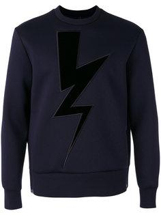 Lightning Bolt sweatshirt Neil Barrett