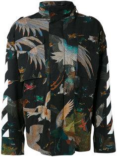 куртка с принтом птиц  Off-White