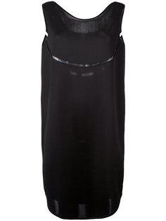 платье шифт с вырезной деталью Gianluca Capannolo