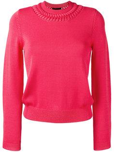 свитер с круглым вырезом Emporio Armani