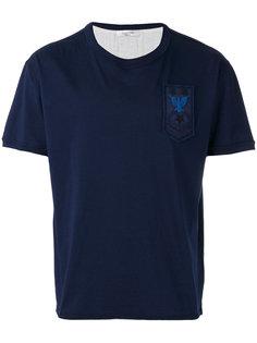 футболка с аппликацией Valentino