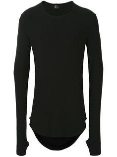 свитер с закругленным подолом  Lost & Found Ria Dunn