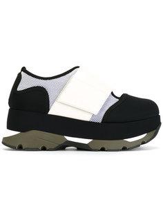 неопреновые кроссовки на платформе Marni