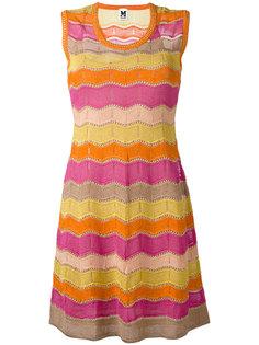 платье с волнистым узором M Missoni