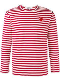 футболка в полоску Breton Comme Des Garçons Play