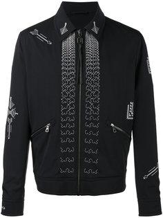 куртка с вышивкой Lanvin