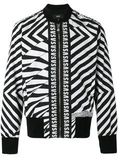 printed logo bomber jacket  Versus