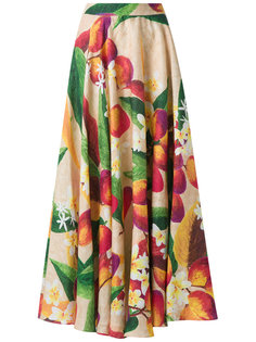 mango and floral skirt Isolda