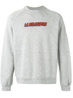 La Solitudine print sweatshirt Sunnei