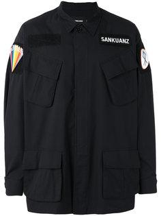 куртка с заплатками Sankuanz
