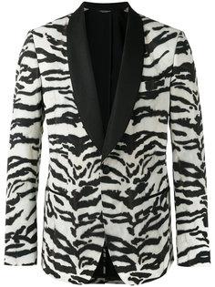 куртка с принтом зебра Dolce & Gabbana