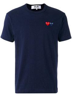 футболка с вышитым логотипом Comme Des Garçons Play