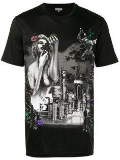 футболка с фантазийным принтом Lanvin