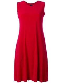 свободное платье без рукавов Norma Kamali