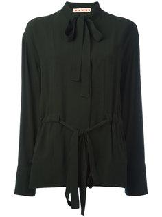 блузка с завязкой на бант Marni