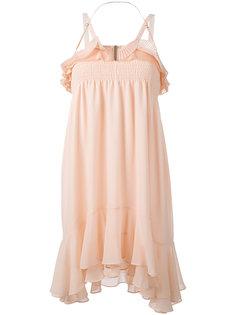платье миди с драпировкой Carven