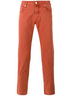 узкие брюки-чинос Jacob Cohen