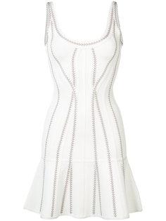 flared mini dress Hervé Léger