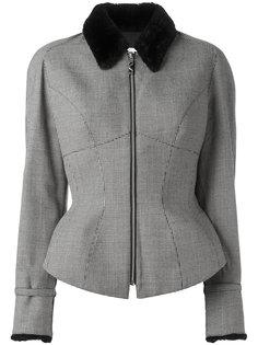 houndstooth jacket Thierry Mugler Vintage
