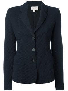 фактурный пиджак на пуговицах Armani Collezioni